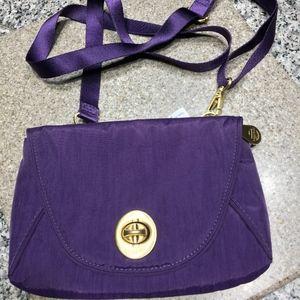 NWT Gorgeous Purple Baggallini Crossbody